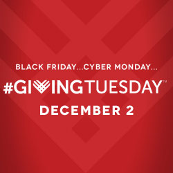 Giving Tuesday - Click here to donate today!