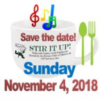 Stir It Up – Save the Date!